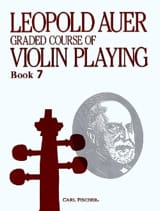 Leopold Auer - Graded course Violin playing, Volume 7 - Partition - di-arezzo.fr