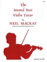 The Second Year Violin Tutor Neil Mackay Partition laflutedepan.com