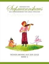 Egon Sassmannshaus - Früher Anfang Auf Der Geige Volume 1 - Partition - di-arezzo.fr