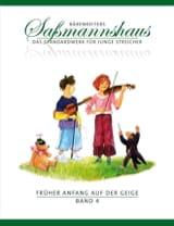 Egon Sassmannshaus - Fruher Anfang Auf Der Geige Vol.4 - Sheet Music - di-arezzo.co.uk