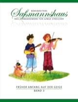 Egon Sassmannshaus - Früher Anfang Auf Der Geige Vol.3 - Partition - di-arezzo.fr