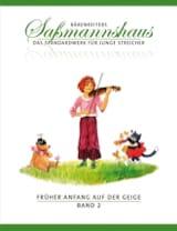Egon Sassmannshaus - Fruher Anfang Auf Der Geige Vol.2 - Sheet Music - di-arezzo.com