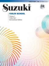Suzuki Violin School Volume 1 Partition Violon - laflutedepan.com