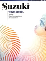 Suzuki - Violin School Volume 1 - Piano Accompaniment - Sheet Music - di-arezzo.com