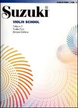 Suzuki - Violin School Volume 3 – Violin Part - Partition - di-arezzo.fr