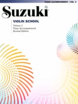 Violin School Vol.3 – Accompagnement Piano - Suzuki - laflutedepan.com
