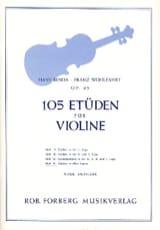 Benda Hans / Wohlfahrt Franz - 105 Etudes op. 45, Volume 4 - Partition - di-arezzo.fr