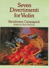 Bartolomeo Campagnoli - 7 Divertimenti op. 18 - Sheet Music - di-arezzo.com