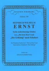 6 Mehrstimmige Etüden / Der Erlkönig nach Schubert laflutedepan.com