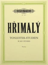 Tonleiter-Studien Johann Hrimaly Partition Violon - laflutedepan.com