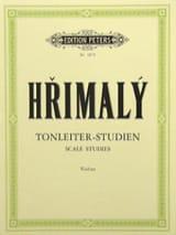 Tonleiter-Studien - Johann Hrimaly - Partition - laflutedepan.com