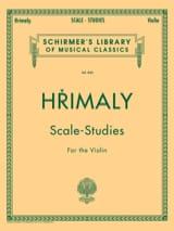 Scale-Studies - Johann Hrimaly - Partition - laflutedepan.com