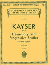 Heinrich Ernst Kayser - 36 Studies op. Svecenski - Sheet Music - di-arezzo.co.uk