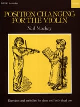 Position changing for the violin - Neil Mackay - laflutedepan.com