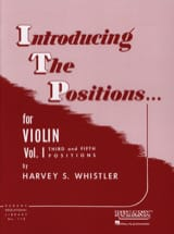 Harvey Whistler - Introducing The Positions Volume 1 - Sheet Music - di-arezzo.co.uk