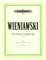 WIENIAWSKI - Studies-Caprices op. 18 - Sheet Music - di-arezzo.co.uk