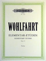 Franz Wohlfahrt - Elementary Studies op. 54 - Sheet Music - di-arezzo.co.uk