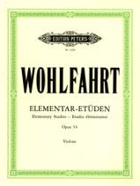 Franz Wohlfahrt - 小学校。 54 - 楽譜 - di-arezzo.jp