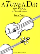 Paul Herfurth - A tune a day, Volume 3 - Viola - Sheet Music - di-arezzo.com