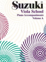 Suzuki - Viola School Vol.A - Accompagnement Piano - Partition - di-arezzo.ch