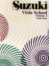 Suzuki - Viola School Vol.2 - Viola Part - Partition - di-arezzo.fr