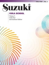 Suzuki - Viola School Vol.3 - Viola Part - Partition - di-arezzo.fr
