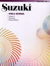 Suzuki - Viola School Vol.5 – viola Part - Partition - di-arezzo.fr
