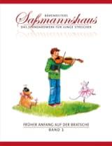 Egon Sassmannshaus - Früher Anfang Auf Der Bratsche Volume 1 - Partition - di-arezzo.fr
