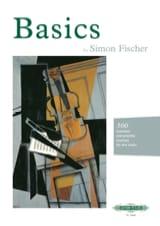 Basics Simon Fischer Partition Violon - laflutedepan.com