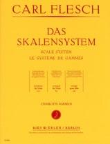 Le Système des Gammes - Alto Carl Flesch Partition laflutedepan.com