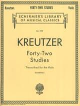 42 Studies - Viola Blumenau Rodolphe Kreutzer laflutedepan.com