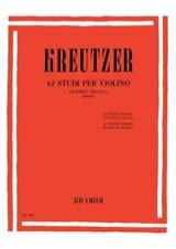 Rodolphe Kreutzer - 42 Studi per Violino - Viola Bennici - Noten - di-arezzo.de