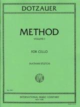 Méthode de violoncelle - Volume 1 Friedrich Dotzauer laflutedepan.com