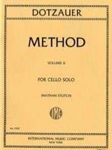 Méthode de violoncelle - Volume 2 Friedrich Dotzauer laflutedepan.com