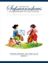 Früher Anfang Auf Dem Cello Vol.3 Egon Sassmannshaus laflutedepan.com