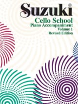 Cello School Volume 1 - Piano-Acc. SUZUKI Partition laflutedepan