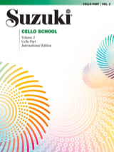Cello School Volume 2 - Cello-Part Suzuki Partition laflutedepan.com