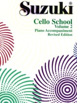 Suzuki - Cello School Volume 2 – Piano-Acc. - Partition - di-arezzo.fr