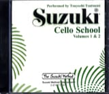 Suzuki - Cello School Volume 1-2 - CD - Partition - di-arezzo.fr