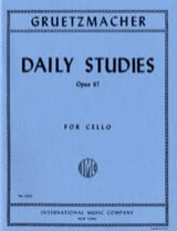 Friedrich Grützmacher - Daily studies op. 67 – Cello - Partition - di-arezzo.fr