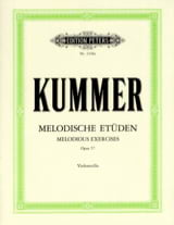 Friedrich-August Kummer - 10 Melodische Etüden op. 57 - Sheet Music - di-arezzo.co.uk