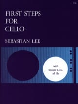 First steps for cello op. 101 Sebastian Lee Partition laflutedepan