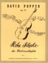 David Popper - Hohe Schule of Violoncellspiels op. 73, Heft 1 - Sheet Music - di-arezzo.co.uk