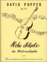 David Popper - Hohe Schule of Violoncellspiels op.73, Heft 2 - Sheet Music - di-arezzo.co.uk