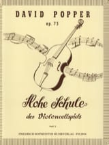 David Popper - Hohe Schule of Violoncellspiels op. 73, Heft 3 - Sheet Music - di-arezzo.co.uk
