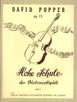 David Popper - Hohe Schule of Violoncellspiels op. 73, Heft 4 - Sheet Music - di-arezzo.co.uk