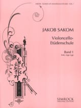 Jakob Sakom - Violoncello Etüden-Schule, Heft 1 - Sheet Music - di-arezzo.co.uk
