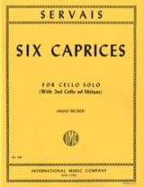 Adrien-François Servais - 6 Caprices op. 11 - Partition - di-arezzo.fr