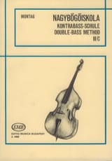 Lajos Montag - Double bass method, Volume 3c - Sheet Music - di-arezzo.com