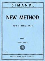 Franz Simandl - New method for string bass, part 1 - Sheet Music - di-arezzo.com